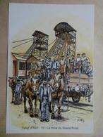 JOEUF D'hier La Mine Du Grand Fond Sur Le Carreau Vers 1905 54 MEURTHE ET MOSELLE Autres Communes - France