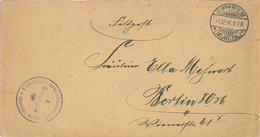 Feldpost Kuppenheim Murgtal 2.Landsturm Inf. Ersatz Bat. Freiburg - Lettres & Documents