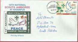 Pakistan - Scouts Jamboree Used FDC - Pakistán