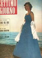 (pagine-pages)LEA MASSARI      Settimogiorno1957/35. - Libri, Riviste, Fumetti