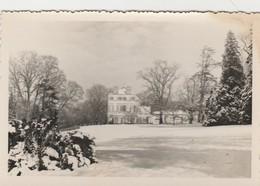 Waremme ,Photocarte Gevaert ,hiver 1945 ,le Chateau De Selys - Waremme