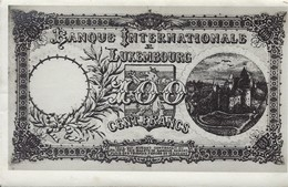 Carte  -  Billet De Monnaie  BIL  Photo Marcel Duffau - Cartoline