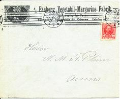 Denmark Cover Odense 16-12-1910 (A/S Faaborg Vegetabil - Margarine Fabrik) - 1905-12 (Frederik VIII)