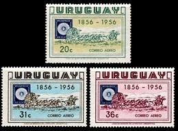 "1956 Uruguay ""Air Post"" (3) Set - Uruguay"