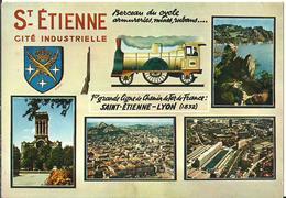 Saint Etienne (Loire, France) Vue Panoramique De La Ville - Saint Etienne