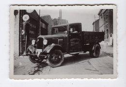 SAINT - NICOLAS  -  Photo 6,2 X 9 Cm - Camion De Transports Julien BELLEFROID, Rue Du Centre 7 - Saint-Nicolas