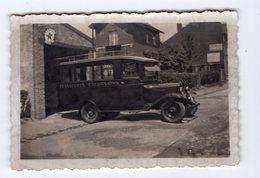SAINT - NICOLAS  -  Photo 6,2 X 9 Cm - Car Jean BELLEFROID, Rue Du Centre 5 - Transports - Excursions - Saint-Nicolas