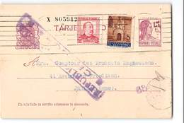 17227 TARJETA POSTAL BARCELONA TO PARIS - CENSURA - 1931-....
