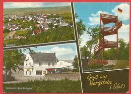 Bergstein, Eifel, Restaurant Zum Burgberg, Franz-Krawutschke-Turm - Deutschland