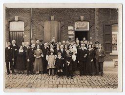 SAINT-NICOLAS - TILLEUR - Photo 12 X 9 Cm - Familles BELLEFROID-COULINNE-DEHASQUE - épicerie LEONARD, Rue Harlez, 96 - Saint-Nicolas