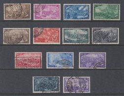 Italia 1948 Sass. 580-591 Serie Risorgimento Usata Completa Con Espressso L.35 - 1946-.. Republiek