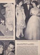 (pagine-pages)GINA LOLLOBRIGIDA  Epoca1957/369. - Libri, Riviste, Fumetti
