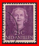 ANTILLAS NEERLANDESAS (PAISES BAJOS) SELLO 1950 REINA JULIANA, 1909 - 2004 - Curazao, Antillas Holandesas, Aruba