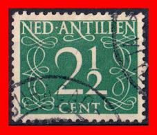 ANTILLAS NEERLANDESAS (PAISES BAJOS) SELLO 1950 CIFRAS - Curazao, Antillas Holandesas, Aruba