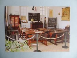CPM Musée De L' école 3 Rue De Plo Cité De Carcassonne - Vue Partielle De La Classe Communale.2010 Ed Bonnafous - Musées