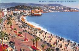 06 - NICE - Promenade Des Anglais Et Le Mont-Boron - Niza