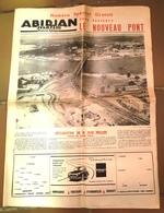 Supplément  à Abidjan Matin (Cote D'Ivoire)  Pour L'achèvement Du Nouveau Pont  (1957) Houphouet Boigny12 Page - Vieux Papiers