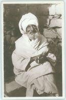 MAROC MAROKKO MOROCCO  CPSM  TYPES - UN CHIBANI PRENANT LE SOLEIL - Morocco