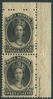 Nova Scotia 1860. Michel #10-x VF/MNH. Queen Victoria. (Ts48) - Koniklijke Families