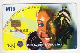 LESOTHO REF MV CARDS LES-06 AIDS2 - Lesotho
