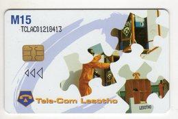LESOTHO REF MV CARDS LES-07 AIDS3 - Lesotho
