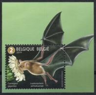 Belgium 2019 MNH, Animals, Pollinators, Lesser Long-nosed Bat (Leptonycteris Yerbabuenae) On Saguaro Cactus - Bats