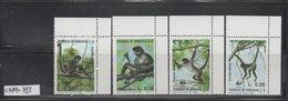 MNH Full Set Honduras Set 1990 WWF Monkey Scott C789-C792 CV $ 20.00 - W.W.F.