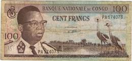 CONGO - 100 FRANCS - 1962 - Congo