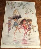 """Margaret W. Tarrant ~ """"Pixie Time"""" ~ The Puddle Dance - Autres Illustrateurs"""