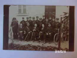 Groupe De Militaires Cyclistes - Uniformes