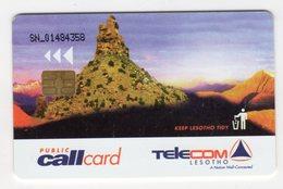 LESOTHO REF MV CARDS LES-11 MOUNTAINS - Lesotho