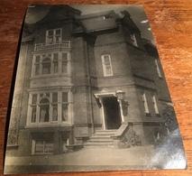 Three Storey House ~ Black & White Photo Postcard - England