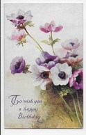 Alice Price-King - Anemones - Tuck OIlette 9523 - Flowers