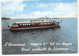 Arzon - La Vedette Roazon-Breiz.   De Port Navalo Et De Locmariaquer. Bateau, Ferries Edit Artaud - Arzon