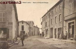 VIOLAY ROUTE DE ST-CYR-DE-VALORGES 42 LOIRE - Francia