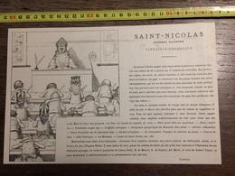 ANCIEN DOCUMENT SAINT NICOLAS - Vieux Papiers