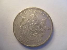 Romania: 200 Lei 1942 (silver) - Roumanie