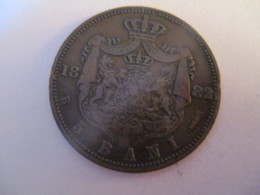 Romania: 5 Bani 1882 - Roumanie