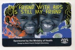 LESOTHO REF MV CARDS LES-05 AIDS 1 - Lesoto