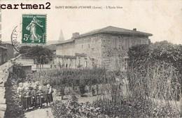 SAINT-ROMAIN-D'HURPHE L'ECOLE LIBRE ANIMEE 42 LOIRE - Francia