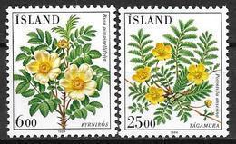 Islande 1984 N° 565/566 Neufs Fleurs - 1944-... Republik