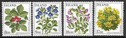 Islande 1985 N° 581/584 Neufs Fleurs - 1944-... Republik
