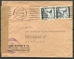 1946 Austria Wien Censor Cover - Copenhagen Denmark - 1945-.... 2nd Republic