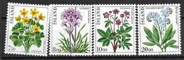 Islande 1983 N° 545/548 Neufs Fleurs - 1944-... Republik