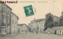 SAINT-GENIS-TERRE-NOIRE PLACE BONNARD ANIME 42 LOIRE - Francia