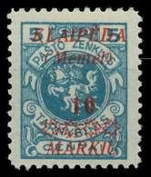 MEMEL 1923 Nr 135 Ungebraucht X886292 - Memel (Klaïpeda)