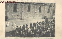 SAINT-GALMIER CONGRES EUCHARISTIQUE 1908 PROCESSION RELIGION FETE 42 LOIRE - Unclassified