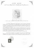 Cérès 170 Ans Du Premier Timbre Poste Français - Document Philatélique Avec Timbre Oblitération 1er Jour (2019) - Unused Stamps
