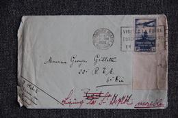 Timbre Seul Sur Lettre ( Fragment ) - De Strasbourg ( 67) Vers  St Avold  (57) , YT N° 320 . - Marcophilie (Lettres)