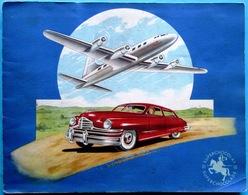 COMPLET 144 Images > Super Chocolat JACQUES : Album De Chromos AVIATION & AUTOMOBILE (1955) - Jacques